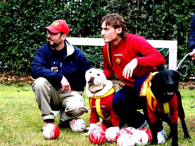 Francesco Totti e la SICS