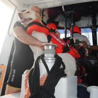 UC SICS a bordo di mezzo Search and Rescue